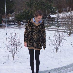 NASTYGAL oversized knit sweater